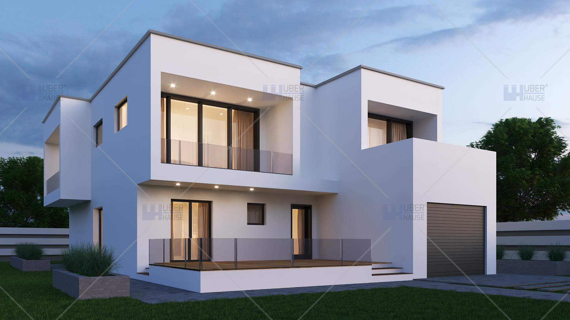 Proiect casa parter etaj 187 mp herra for Miglior design di casa moderna