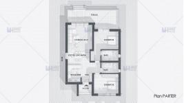 Proiect casa parter (96 mp) - Martiva