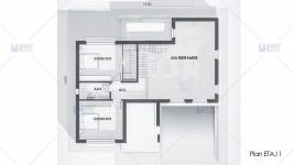 Proiect casa demisol + parter + etaj (260 mp) - Grania