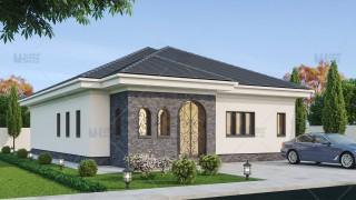 Proiect casa parter (119 mp) - Irma