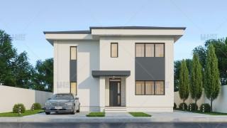 Proiect casa parter + etaj (200 mp) - Marvela
