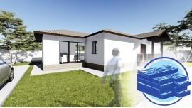 Constructie casa lemn parter (104 mp) - Lumis
