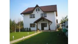Constructie casa lemn parter + mansarda (150 mp) - Jud Brasov