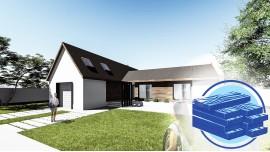 Constructie casa lemn parter (150 mp) - Berna