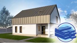 Constructie casa lemn parter + mansarda (138 mp) - Vendra