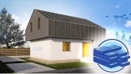 Constructie casa lemn parter + mansarda (115 mp) - Compakt