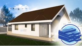 Constructie casa lemn parter (62 mp) - Elysium