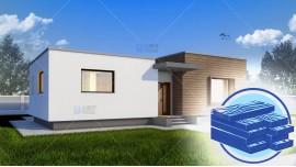 Constructie casa lemn parter (128 mp) - Gliso