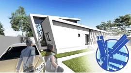 Constructie casa structura metalica parter + etaj (102 mp) - Tempera