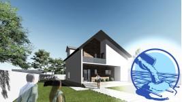 Constructie casa zidarie parter + mansarda (124 mp) - Reyna