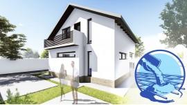 Constructie casa zidarie parter + mansarda (110 mp) - Allena
