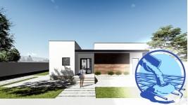 Constructie casa zidarie parter (128 mp) - Flatro