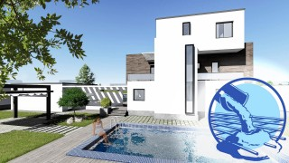 Constructie casa zidarie parter + 2 etaje (272 mp) - Corona