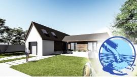Constructie casa zidarie parter (150 mp) - Berna