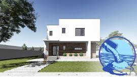 Constructie casa zidarie parter + etaj (124 mp) - Donna