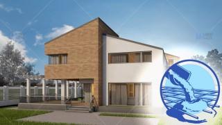 Constructie casa zidarie parter + mansarda (159 mp) - Amelia