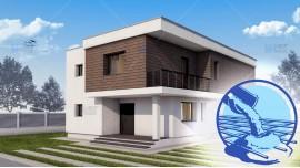 Constructie casa zidarie parter + etaj (171 mp) - Atena