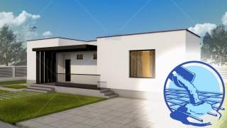Constructie casa zidarie parter (102 mp) - Campina