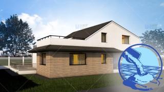 Constructie casa zidarie parter + mansarda (190 mp) - Dunia
