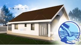 Constructie casa zidarie parter (62 mp) - Elysium
