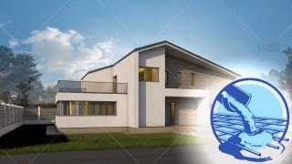 Constructie casa zidarie parter + mansarda (181 mp) - Expanda