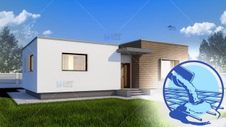 Constructie casa zidarie parter (128 mp) - Gliso