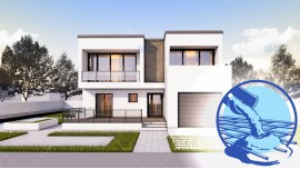 Constructie casa zidarie parter + etaj (187 mp) - Herra