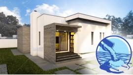 Constructie casa zidarie parter (88 mp) - Minimus