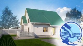 Constructie casa zidarie parter + mansarda (111 mp) - Muralis