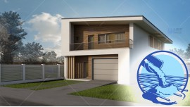 Constructie casa zidarie parter + mansarda (200 mp) - Selena