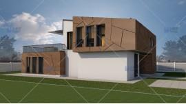 Proiect casa parter + mansarda (176 mp) - Deezen