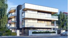 Proiect bloc 4 apartamente lux – P + 2 si etaj 3 retras - Floreasca, Bucuresti