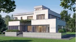 Proiect casa subsol + parter + 2 etaje (280mp) - Galia