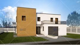 Proiect casa parter + etaj (212 mp) - Abya