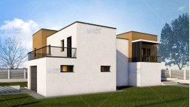 Constructie casa zidarie parter + etaj (212 mp) - Abya