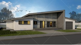 Proiect casa parter (109 mp) - Adona