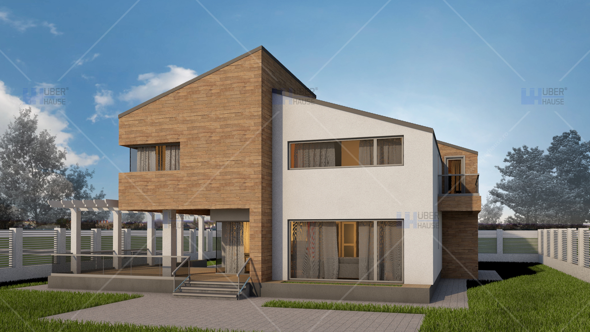 Proiect casa parter mansarda 159 mp amelia for Arhitectura case cu mansarda