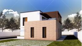 Constructie casa zidarie parter + etaj (185 mp) - Arya