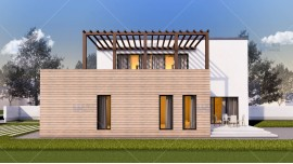 Proiect casa parter + etaj (185 mp) - Arya