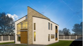 Constructie casa zidarie parter + mansarda (145 mp) - Ascend