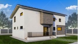 Constructie casa zidarie parter + mansarda (165 mp) - Aselya