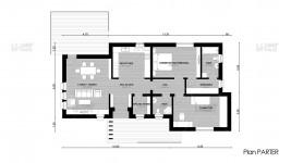 Proiect casa parter (102 mp) - Campina