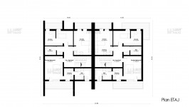 Constructie duplex zidarie parter + 2 etaje (394 mp) - Dualis