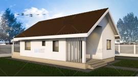 Proiect casa parter (62 mp) - Elysium