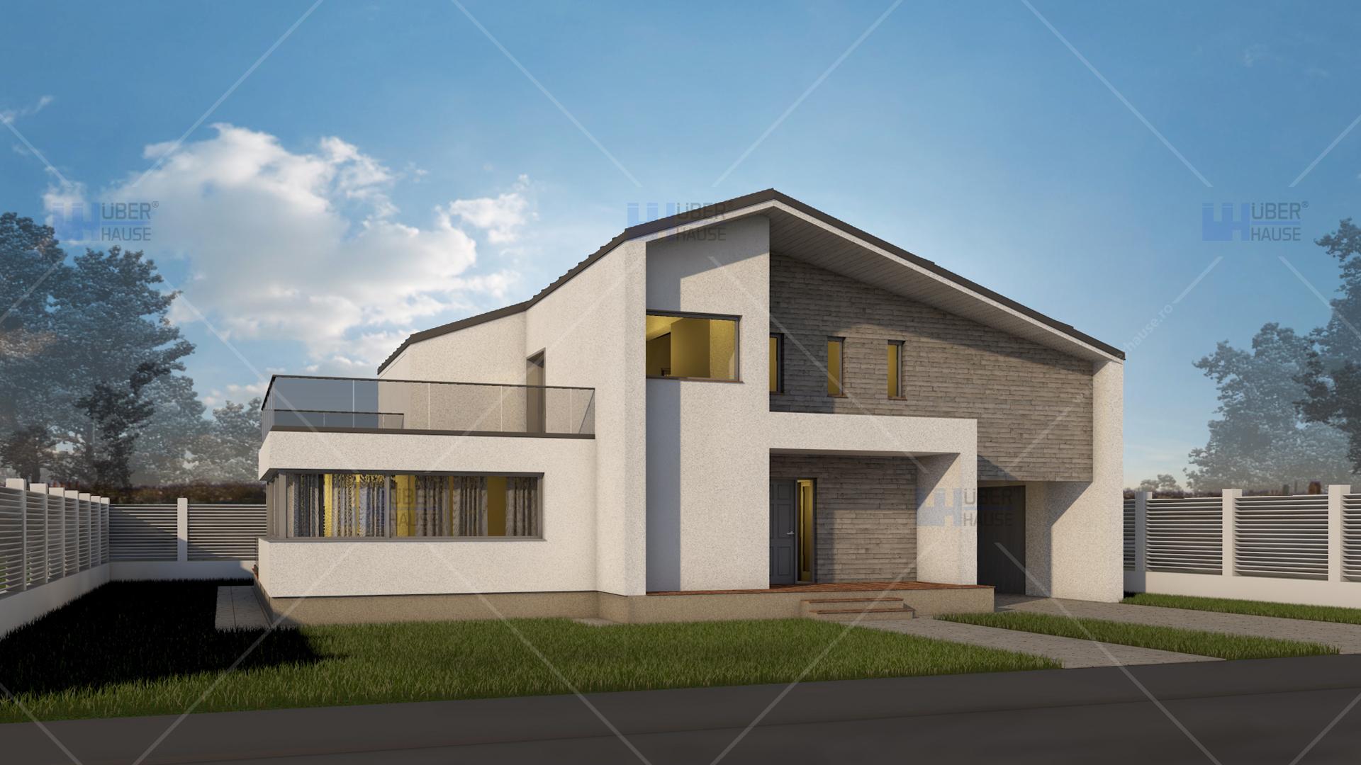 Proiect casa parter mansarda 181 m2 expanda for Youtube case cu mansarda