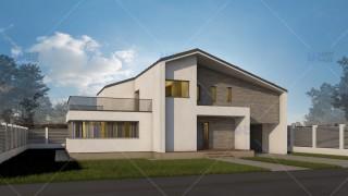 Proiect casa parter + mansarda (181 mp) - Expanda