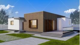 Proiect casa parter (128 mp) - Gliso