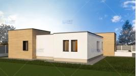 Proiect casa parter (143 mp) - Meza