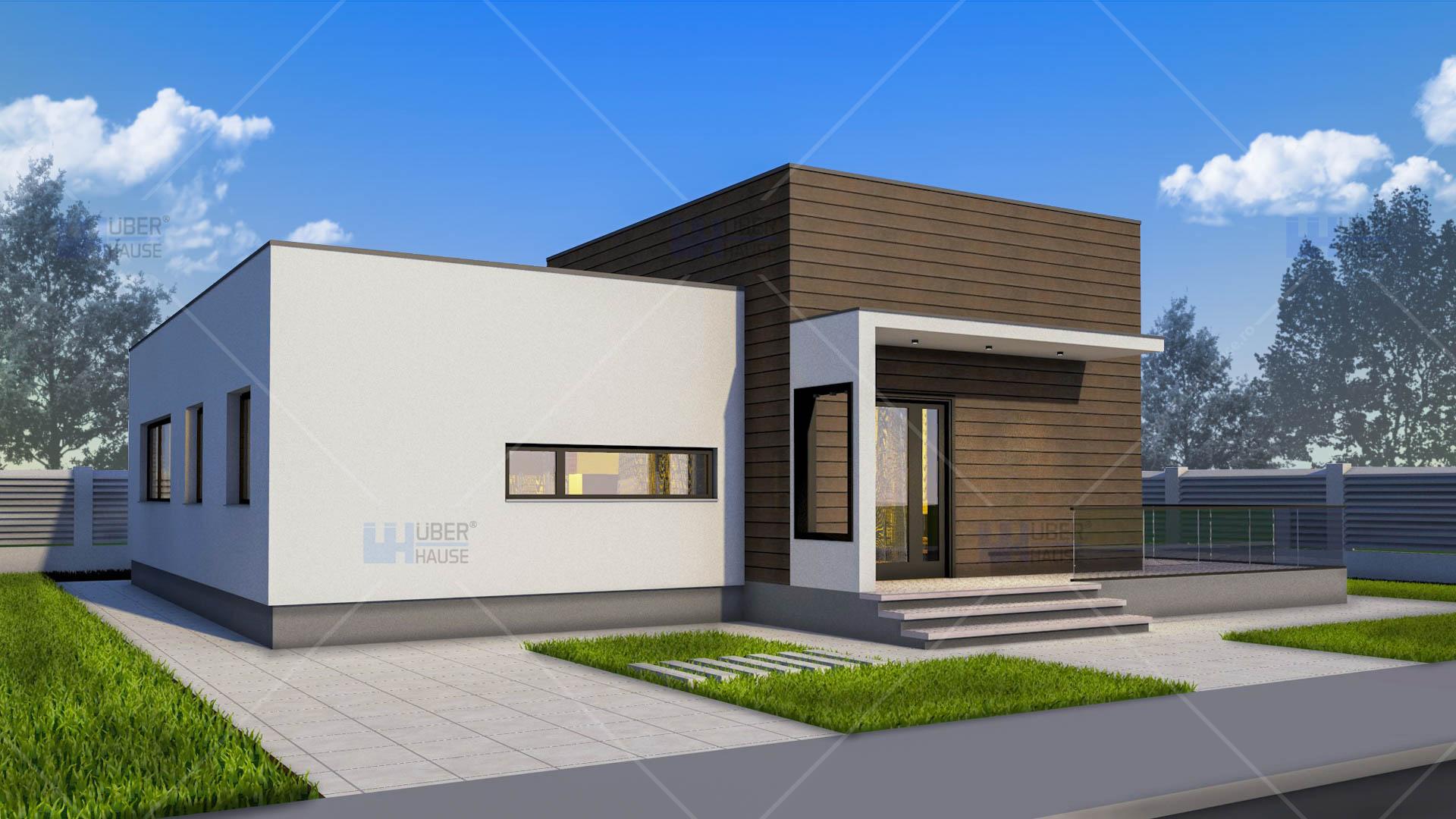 Proiect casa parter 100 mp nadira for Case de 100 mp