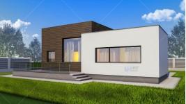 Constructie casa zidarie parter (100 mp ) - Nadira